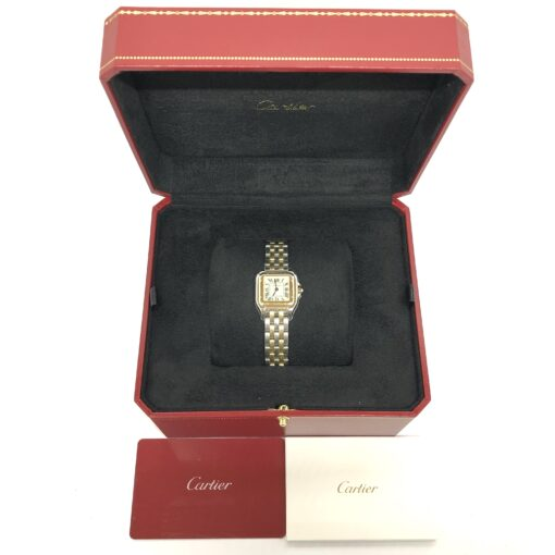 Cartier Panthère Stainless Steel & 18K Yellow Gold Small Model Ladies Watch, W2PN0006 5
