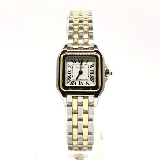 Cartier Panthère Stainless Steel & 18K Yellow Gold Small Model Ladies Watch, W2PN0006 2