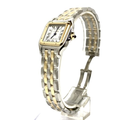 Cartier Panthère Stainless Steel & 18K Yellow Gold Small Model Ladies Watch, W2PN0006 3