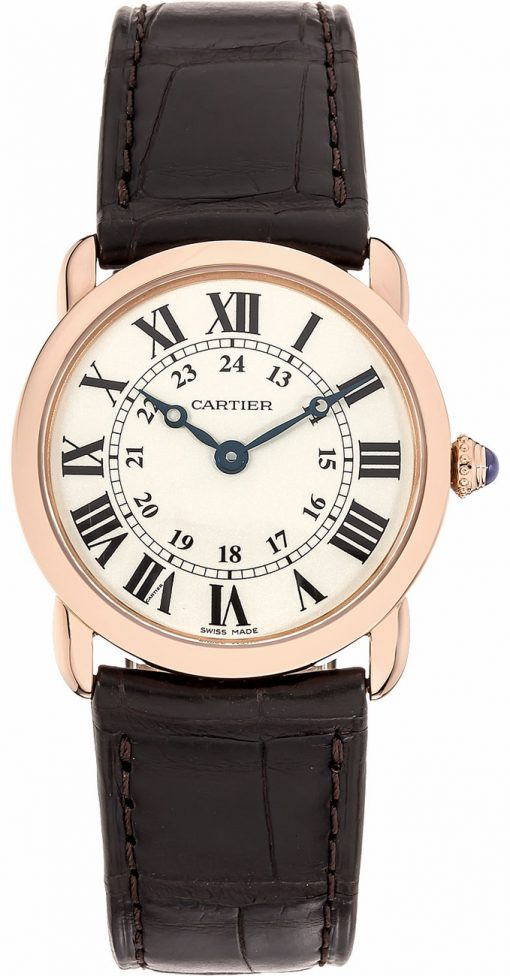 Cartier Ronde Louis 18K Pink Gold Lady's Watch, W6800151