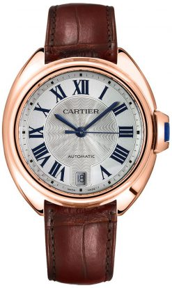 Cartier Tank Clé De 18K Pink Gold Ladies Watch WGCL0013