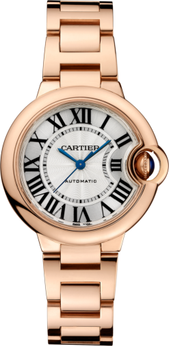 Cartier Ballon Bleu 18K Pink Gold Lady's Watch W6920096