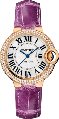 Cartier Ballon Bleu 18K Pink Gold & Diamonds Lady's Watch WE902066