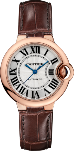 Cartier Ballon Bleu 18K Pink Gold Lady's Watch W6920097