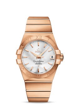 Omega Constellation Co-Axial 18K Red Gold Unisex Watch 123.50.38.21.02.001