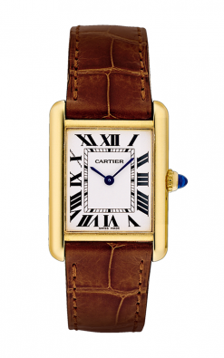 Cartier Tank Louis 18K Yellow Gold Ladies Watch W1529856