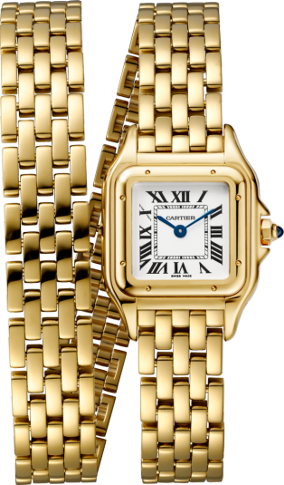 Cartier Panthère 18K Yellow Gold Ladies Watch, WGPN0013