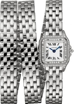 Cartier Panthère 18K White Gold & Diamonds Ladies Watch WJPN0011