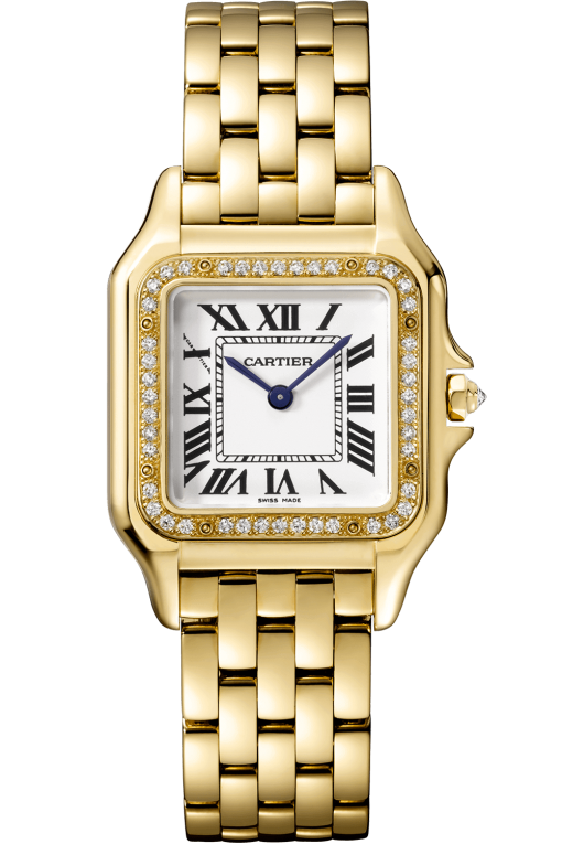 Cartier Panthère 18K Yellow Gold & Diamonds Ladies Watch, WJPN0016