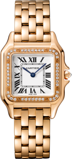 Cartier Panthère 18K Pink Gold & Diamonds Ladies Watch WJPN0009