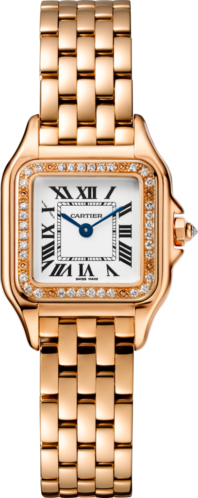 Cartier Panthère 18K Pink Gold & Diamonds Ladies Watch, WJPN0008