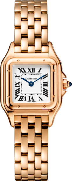 Cartier Panthère 18K Pink Gold Ladies Watch WGPN0006