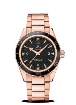 Omega Seamaster 300 Co-Axial Master 18K Sedna™ Gold Men's Watch 233.60.41.21.01.001