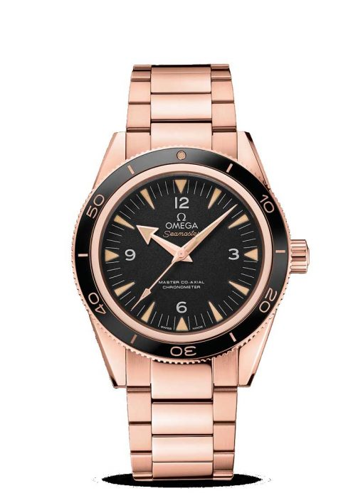 Omega Seamaster 300 Co-Axial Master 18K Sedna™ Gold Men's Watch, 233.60.41.21.01.001