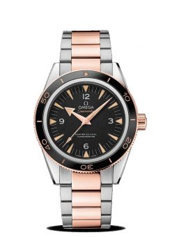 Omega Seamaster 300 Co-Axial Master 18K Sedna™ Gold & Stainless Steel Men's Watch 233.20.41.21.01.001