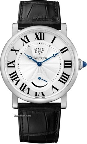 Cartier Rotonde Stainless Steel Men's Watch, W1556369