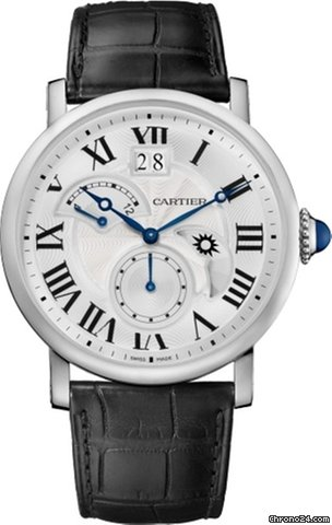 Cartier Rotonde Stainless Steel Men's Watch, W1556368