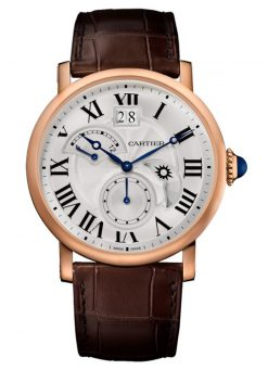 Cartier Rotonde 18K Pink Gold Men's Watch W1556240