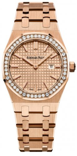 Audemars Piguet Royal Oak Quartz Rose Gold Ladies Watch 67651OR.ZZ.1261OR.03