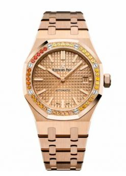 Audemars Piguet Royal Oak 18K Pink Gold & Diamonds Ladies Watch 15451OR.YY.1256OR.01