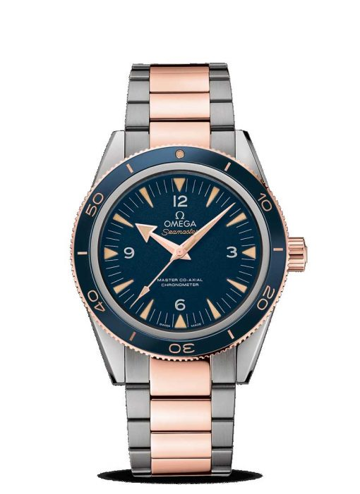 Omega Seamaster 300 Master Co-Axial Titanium & 18K Sedna™ Gold Men's Watch, 233.60.41.21.03.001