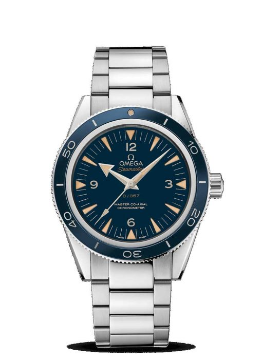 Omega Seamaster 300 Master Co-Axial 950 Platinum Men's Watch, 233.90.41.21.03.002