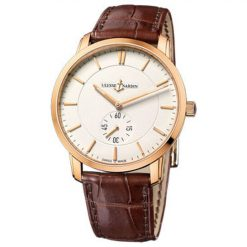 Ulysse Nardin Classico 18K Rose Gold Unisex Watch preowned.8206-118-2/31