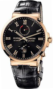 Ulysse Nardin Marine Chronometer Spasskaya Tower 18K Rose Gold Men's Watch preowned.266-61/TOWER