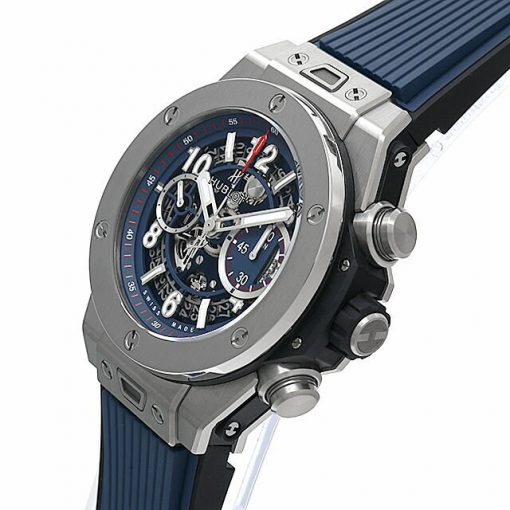 Hublot Big Bang Unico Blue Titanium Men's Watch, 411.NX.5179.RX 2