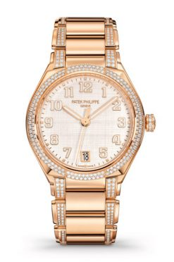 Patek Philippe Twenty-4 18K Rose Gold & Diamonds Ladies Watch 7300/1201R-001