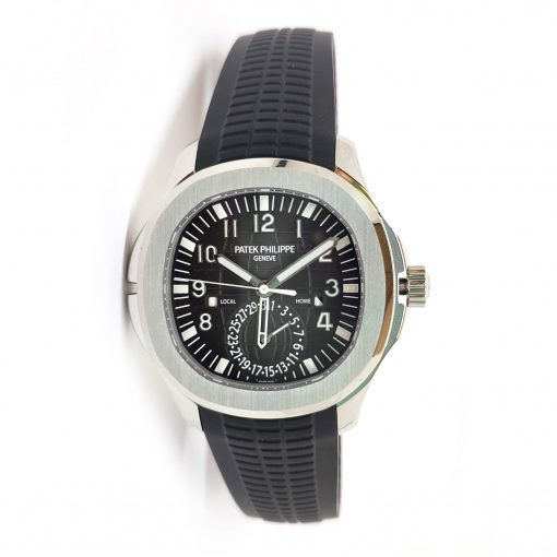 Patek Philippe Aquanaut Dual Time Stainless Steel Men's Watch, 5164A-001 2