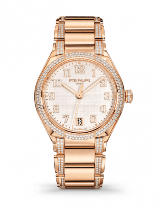 Patek Philippe Twenty-4 18K Rose Gold & Diamonds Ladies Watch, 7300/1201R-001