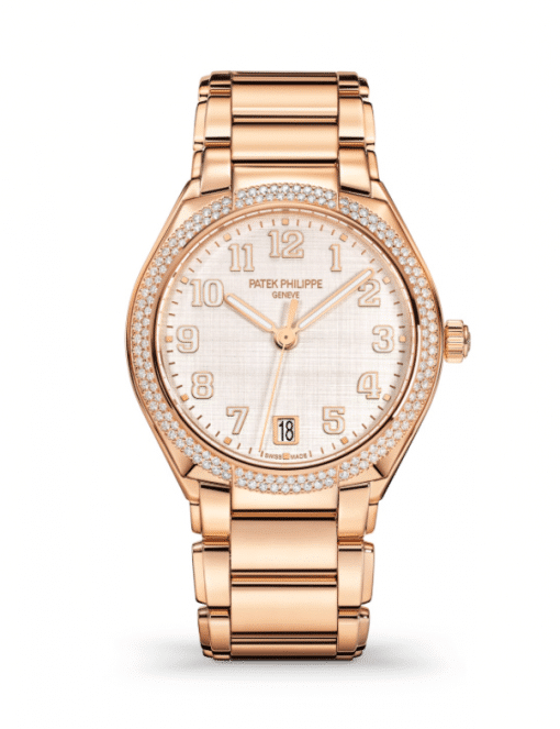Patek Philippe Twenty-4 18K Rose Gold & Diamonds Ladies Watch, 7300/1200R-010