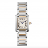 Cartier Tank Francaise 18K Yellow Gold Stainless Steel Lady's Watch, W51007Q4 1