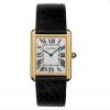 Cartier Tank Solo 18K Yellow Gold Stainless Steel Watch, W5200004 1