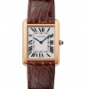 Cartier Tank Solo 18K Pink Gold Stainless Steel Watch, W5200025 1