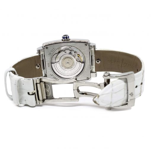 Ulysse Nardin Caprice White Stainless Steel Diamond Lady's Watch, pre-owned.133-91AC/691 8
