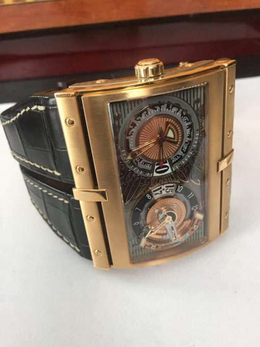 HD3 Hidalgo XT-2 Rose Gold Limited Edition Watch, pre-owned-XT-2 3