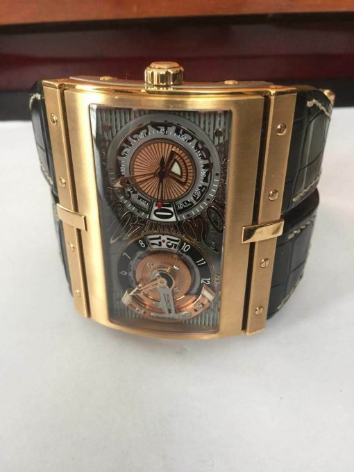 HD3 Hidalgo XT-2 Rose Gold Limited Edition Watch, pre-owned-XT-2