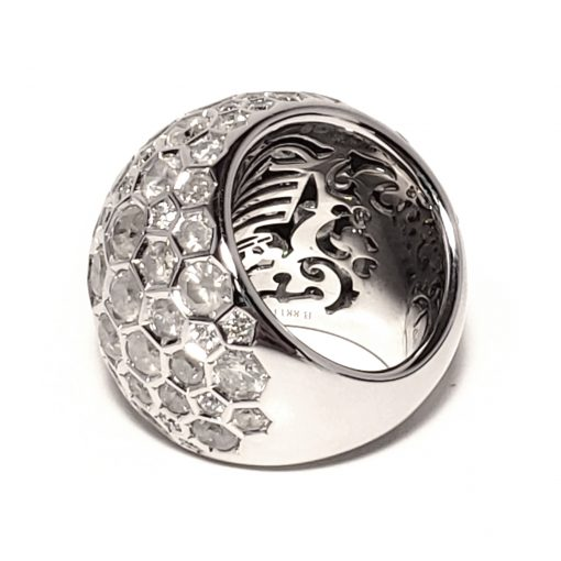 De Grisogono Boule Ring With White Gold And Diamonds, 59502/01-SPE 9