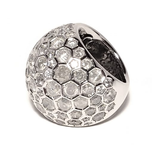 De Grisogono Boule Ring With White Gold And Diamonds, 59502/01-SPE 8