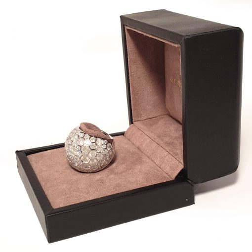 De Grisogono Boule Ring With White Gold And Diamonds, 59502/01-SPE 4