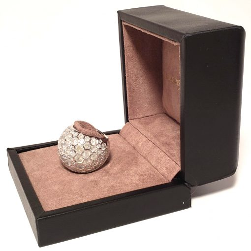 De Grisogono Boule Ring With White Gold And Diamonds, 59502/01-SPE 5