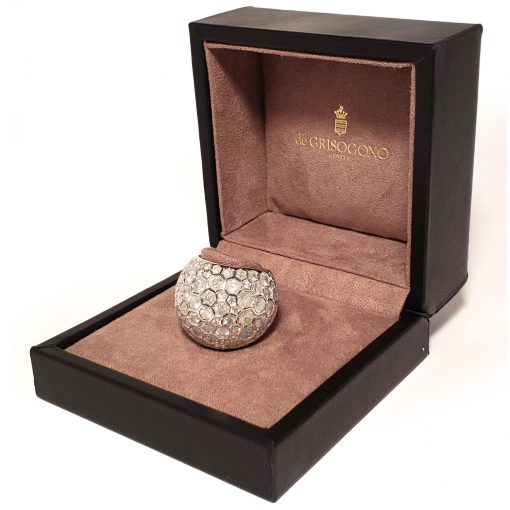 De Grisogono Boule Ring With White Gold And Diamonds, 59502/01-SPE 3