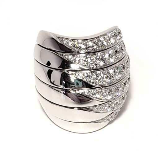 De Grisogono Zebra Ring With White Gold And Diamonds, 53901/01 9
