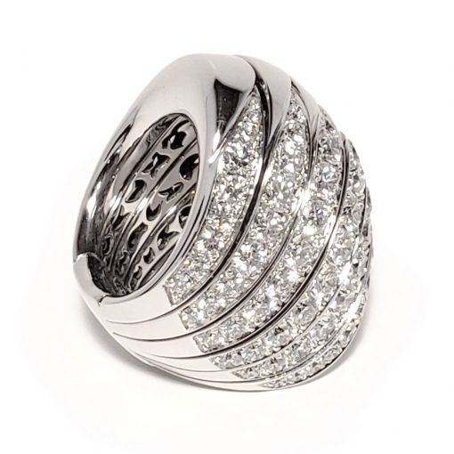 De Grisogono Zebra Ring With White Gold And Diamonds, 53901/01 7