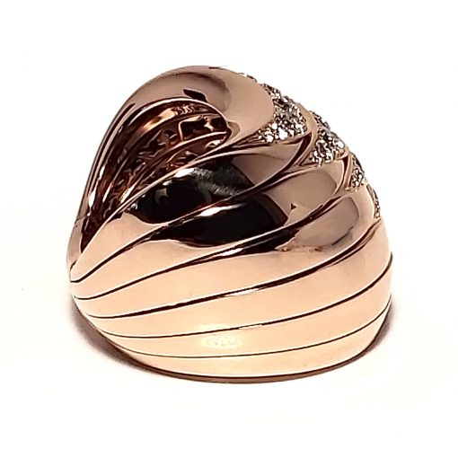 De Grisogono Zebra Ring With Rose Gold And Diamonds, 53901/04 12