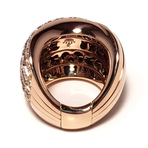 De Grisogono Zebra Ring With Rose Gold And Diamonds, 53901/04 10