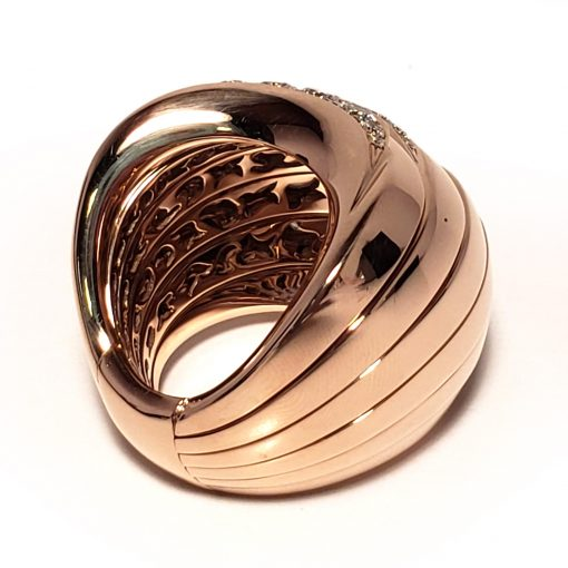 De Grisogono Zebra Ring With Rose Gold And Diamonds, 53901/04 11