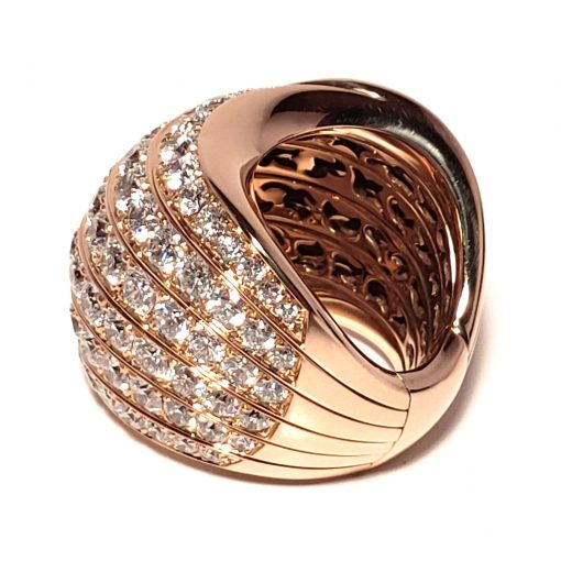 De Grisogono Zebra Ring With Rose Gold And Diamonds, 53901/04 9